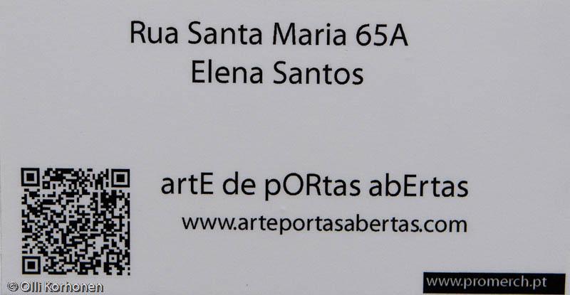 Arte de portas abertas, Funchal, Madeira.