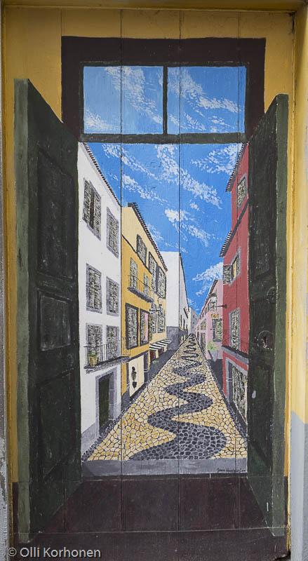Katutaidetta, Rua de Santa Maria, Madeira.