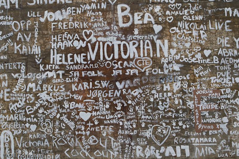 Katutaidetta, Komafest, Vuoreija, Norja 2012.