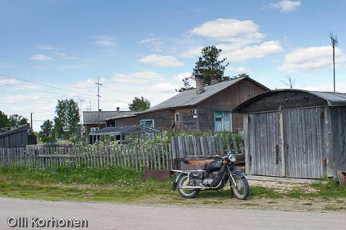 ural moottoripyörä,ontajärvi,karjala,venäjän karjala