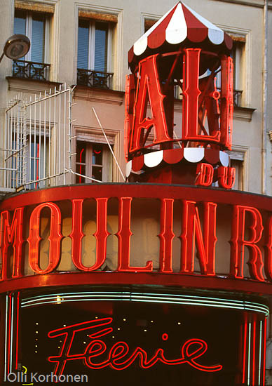 Kuva: Punainen Mylly, Moulin Roge.