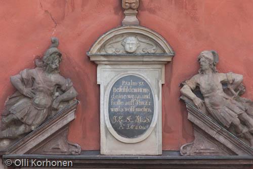 Psalmi 37, Stortorget, Vanha kaupunki, Tukholma.