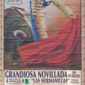toreador in a spanish-bullfight ad, poster