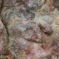 Pareidolia, kasvot kivessä.
