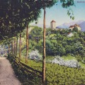 vanha-postikortti-merano-italia-anha postikortti, v. 1922, Merano, Italia