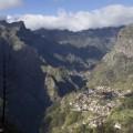 Näkymä alas Nunnalaaksoon, Madeira.