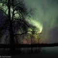 Revontulet Suonenjoella Pohjois-Savossa