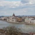 Budapest, näkymä yli Tonavan.