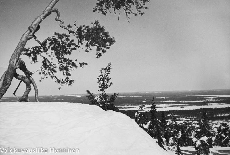 Vuokatinvaara, talvimaisema, 1960-luku, Valokuvausliike Hynninen