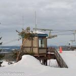 Vuokatinvaaran ylärinteen hiihtohissien lähtöpaikka vuonna 2004.