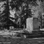 Kajaani, Kirkkopuistoa, 1960-luku, valokuvausliike Hynninen