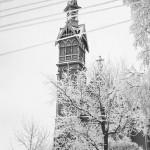 Kajaani, kirkko, 1960-luku, valokuvausliike Hynninen