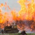 Kantokasa tulessa, valtava tulipalo Suonenjoella