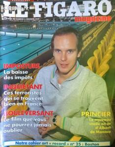 Autiotalosta löytynyt Le Figaro v.1985