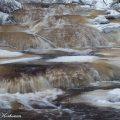 kourujoki,jää,jäätyvä joki