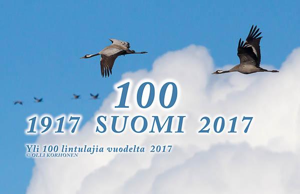 suomi 100,itsenäisyyden juhlavuosi.lintuvideo