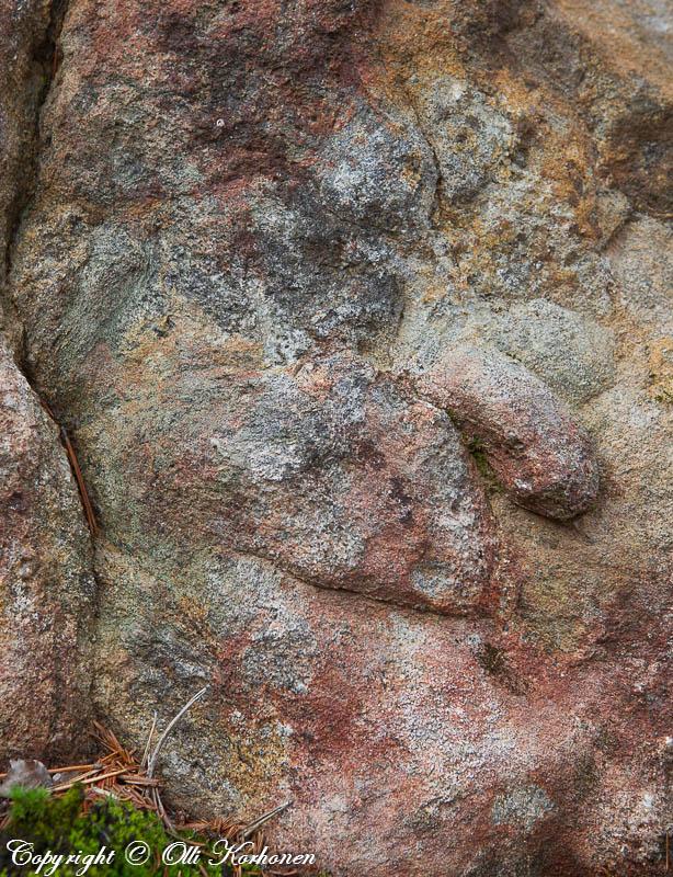 pareidolia,ihmisen kasvot,mies,kivi