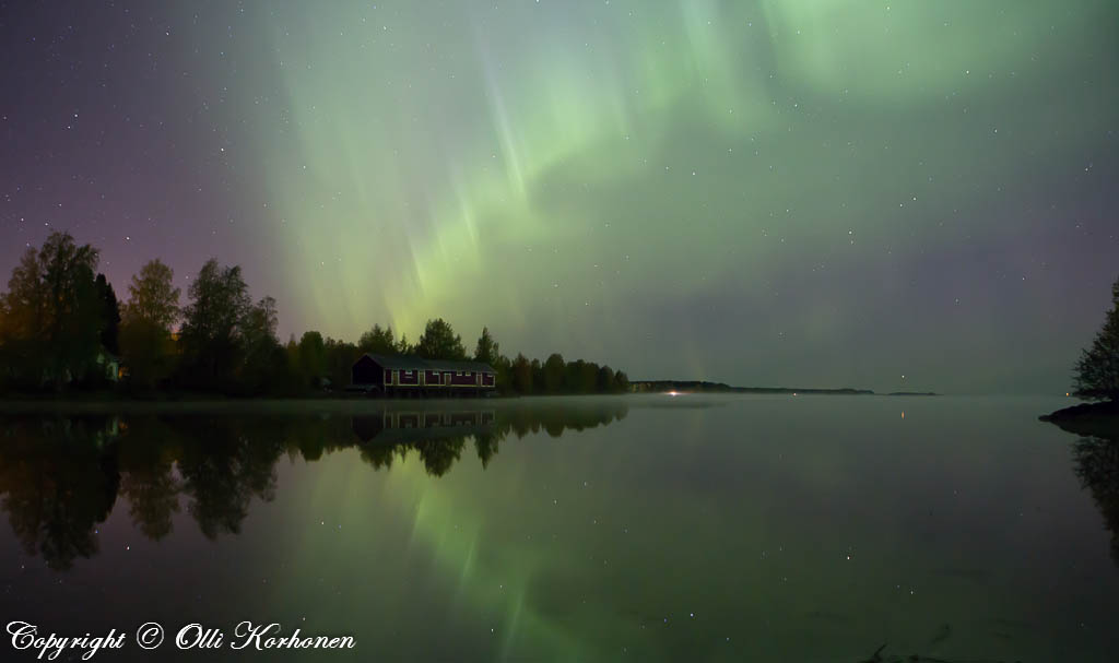 revontulet,suonenjoki,iisvesi,aurora borealis,northern lights