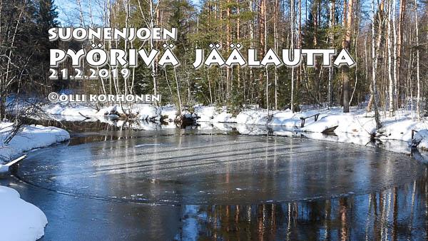 pyörivä jäälautta,suonenjoki